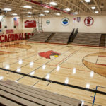 Crandon HS Gym Floor