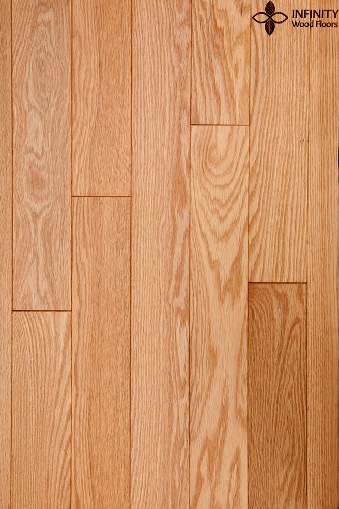"3 ¼"" Red Oak SELECT  Natural/Satin"