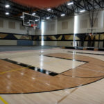 Brown Deer Gym Floor
